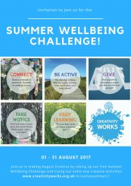 It's coming....The Summer Wellbeing Challenge 2017