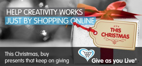 Help Creativity Works by shopping online