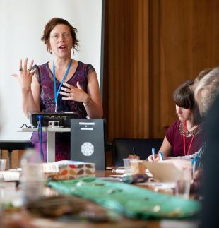 Journaling workshop success at June conference