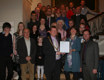B&NES Civic Reception held in our honour