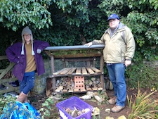 Bug House created during Creativity and the Potting Shed