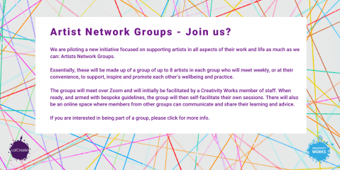 Artist Network Groups – Join us?
